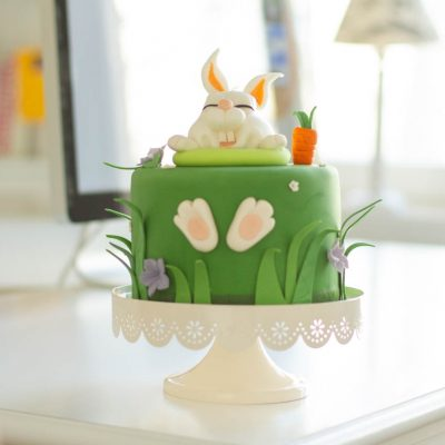 Küchen-Miezen · Back- & Foodblog · Tutorial / Anleitung: Oster-Hase aus Fondant modellieren