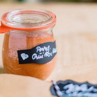 Küchen-Miezen · Back- & Foodblog · Rezept / Receita · Marmelada portuguêsa · Portugiesische Quittenmarmelade nach traditionellem Rezept aus Portugal