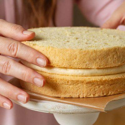 Küchen-Miezen · Back- & Foodblog · Rezept · Vanillebiskuit · Vanille-Biskuit