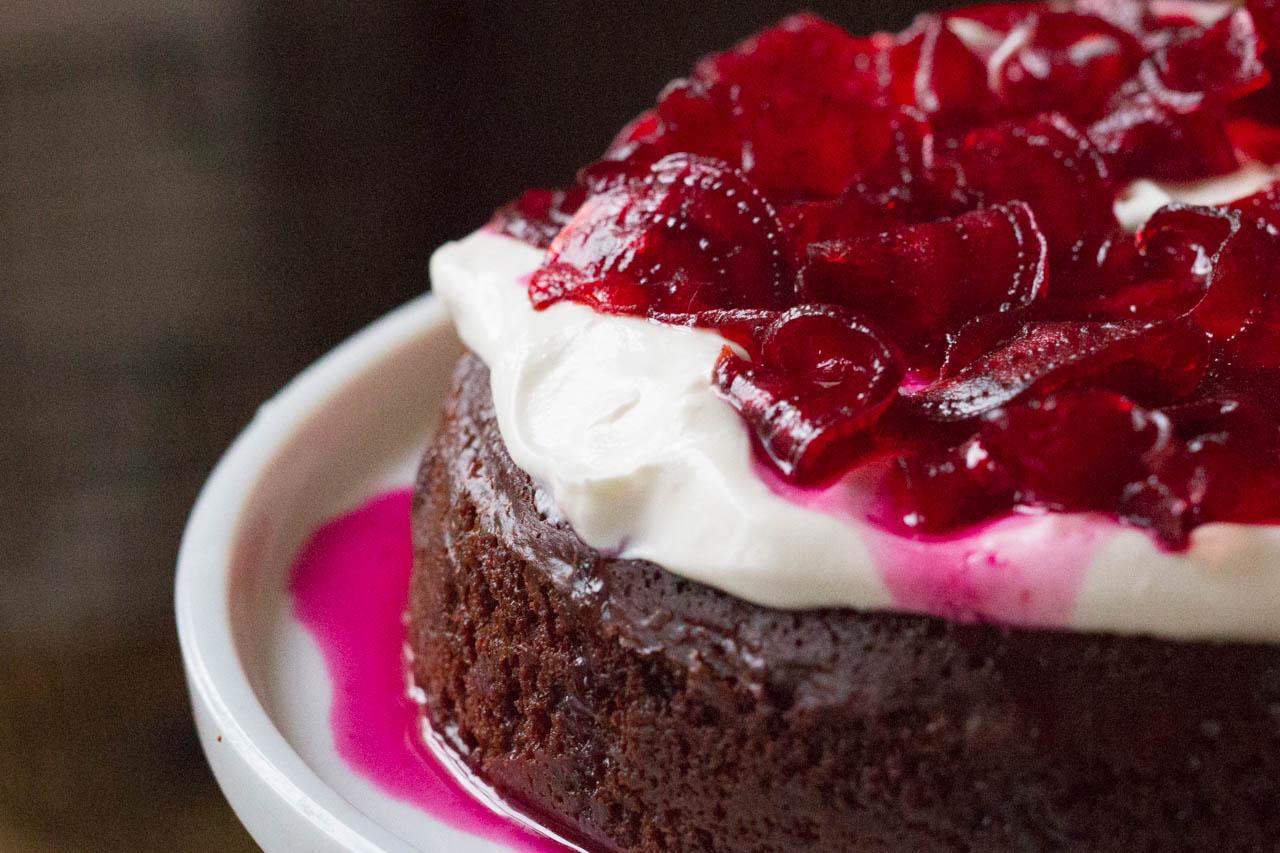 Schokoladen-Kuchen ohne Mehl