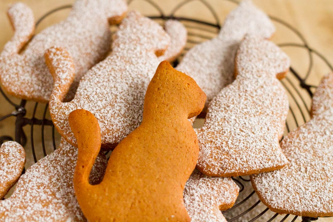 Orangen-Lebkuchen-Kekse
