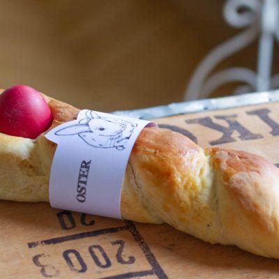 Küchen-Miezen · Back- & Foodblog · Rezept · Tsuréki · Tradionelles Rezept für griechisches Osterbrot