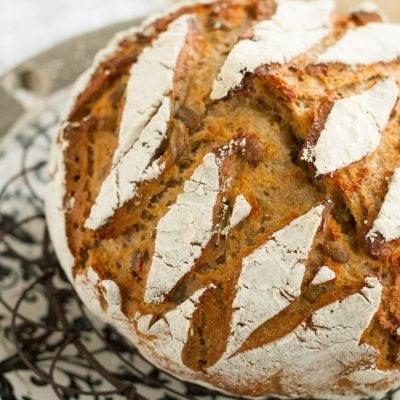 Küchen-Miezen · Back- & Foodblog · Rezept · Kürbiskern-Dinkel-Brot