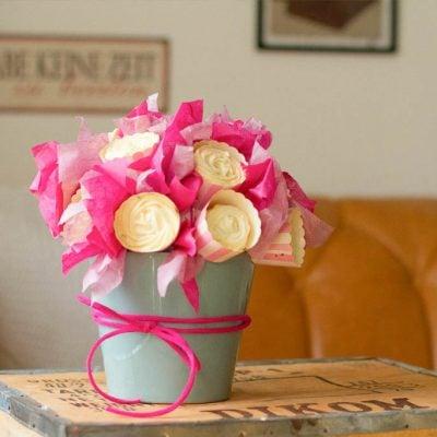 Küchen-Miezen · Back- & Foodblog · Tutorial Cupcake-Blumenstrauß
