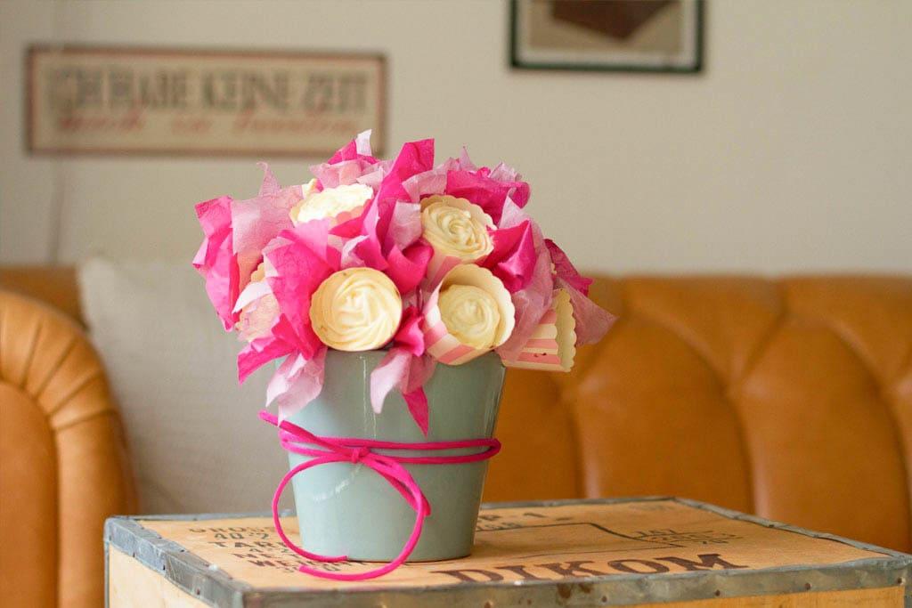 DIY Cupcake-Blumenstrauß