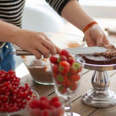 Küchen-Miezen · Back- & Foodblog · Rezept · Ganache als Tortenfüllung
