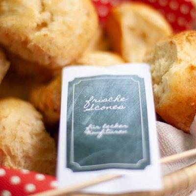 Küchen-Miezen · Back- & Foodblog · Rezept · Einfache Scones