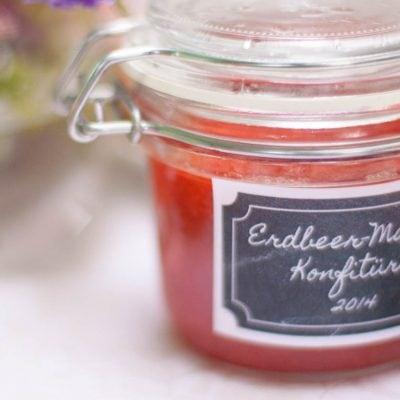 Küchen-Miezen · Back- & Foodblog · Rezept · Erdbeer-Mango-Konfitüre