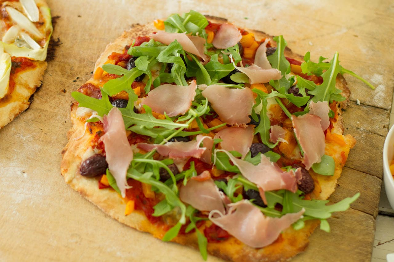 Selbstgemachter Pizza-Teig