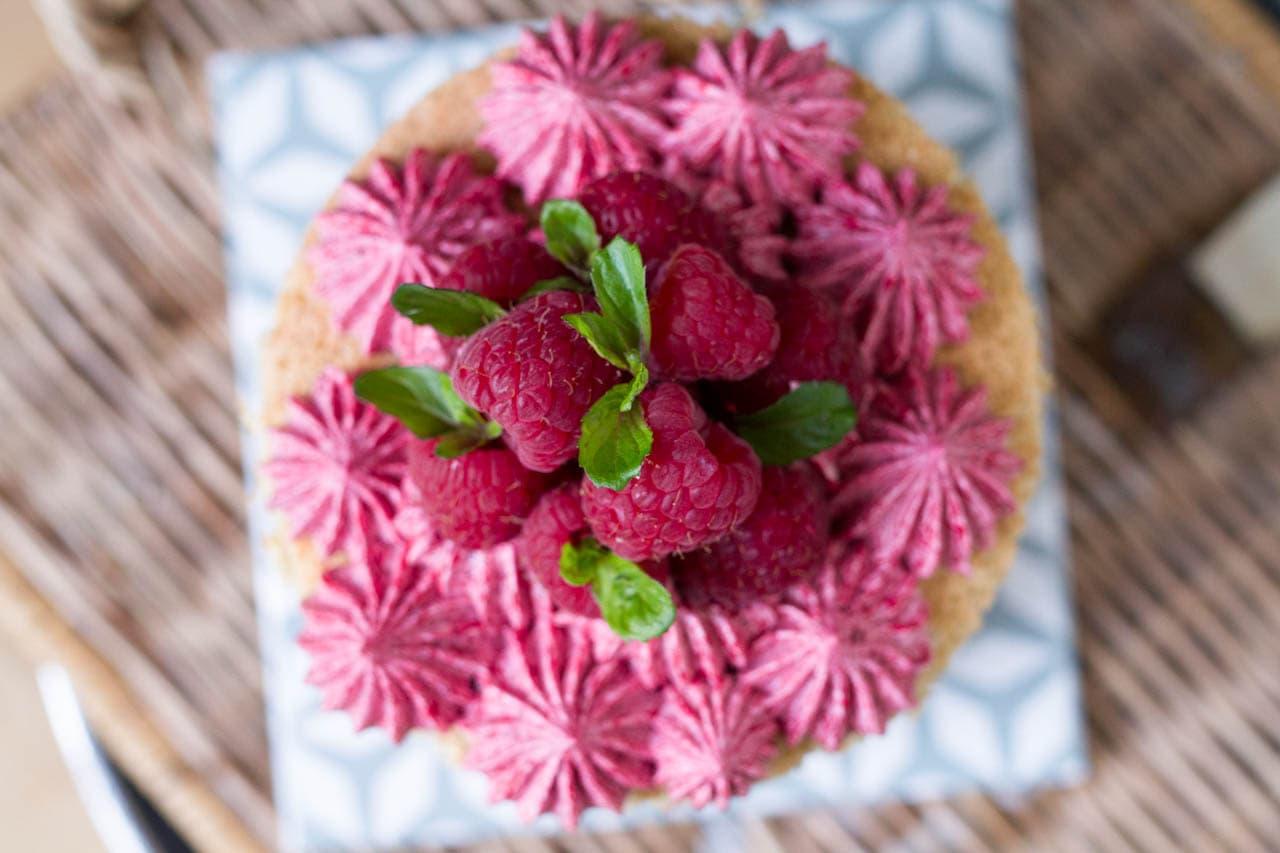 Küchen-Miezen · Back- & Foodblog · Rezept · Himbeer-Buttercreme als Tortenfüllung