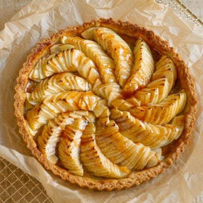 Küchen-Miezen · Back- & Foodblog · Rezept · Apfeltarte mit Vanille & Zimt