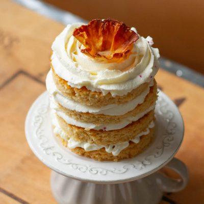 Küchen-Miezen · Back- & Foodblog · Rezept · Kokos-Biskuit ohne Zucker