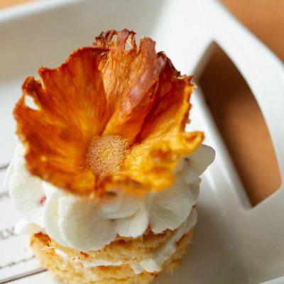 Küchen-Miezen · Back- & Foodblog · Anleitung: DIY getrocknete Ananas-Blumen selbstgemacht