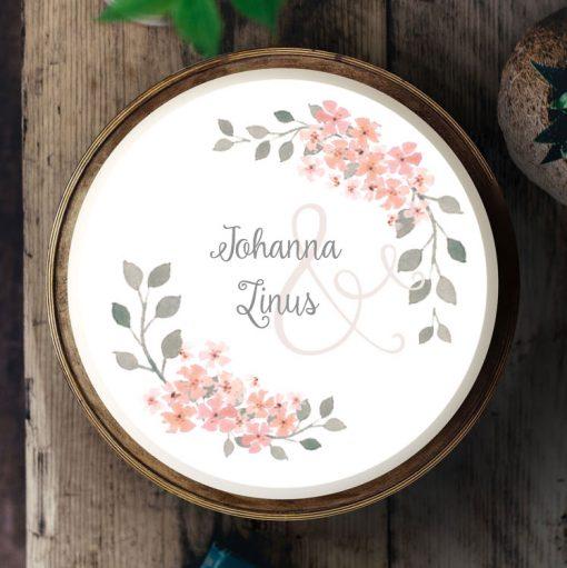 Küchen-Miezen · Essbares Tortenbild & Tortenaufleger selbst gestalten · Konfigurator · 019 Kirschblüten rosa