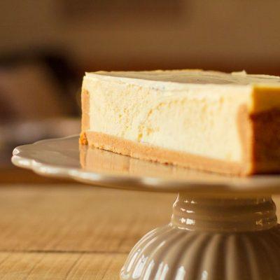 Küchen-Miezen · Back- & Foodblog · Rezept · Käsekuchen mit Panna Cotta
