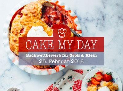 Küchen-Miezen · Food- & Backblog · Cake my Day Minden · Logo ·Backwettbewerb