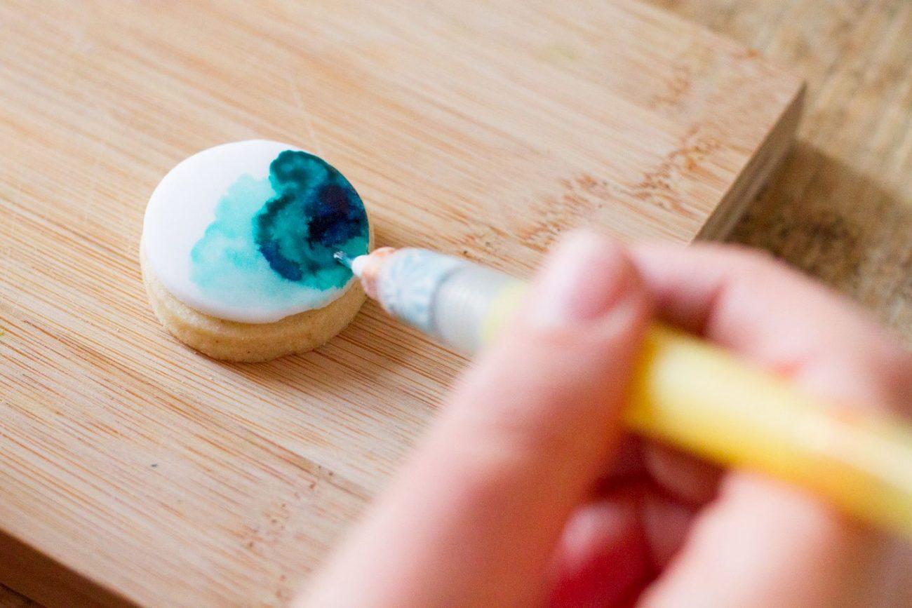 Tutorial: handbemalte Aquarell Kekse / Watercolor Cookies