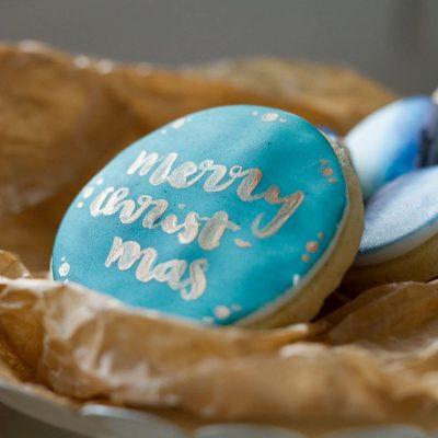 Küchen-Miezen · Back- & Foodblog · Tutorial / Anleitung: Aquarell-Kekse dekorieren · Weihnachten
