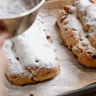 Küchen-Miezen · Back- & Foodblog · Rezept: Thüringer Christstollen / Weihnachtsstollen / Stollen