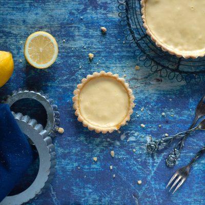 Küchen-Miezen · Back- & Foodblog · Rezept: Tartelette au Citron · Zitronentarte