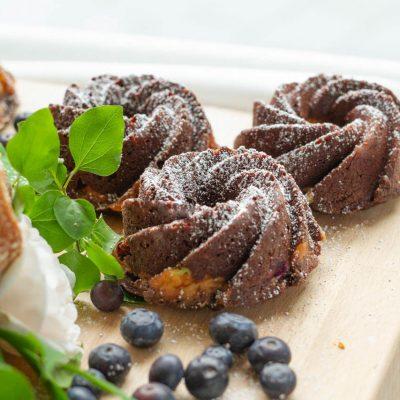 Küchen-Miezen · Back- & Foodblog · Rezept: Brownie Cheesecake Gugelhupf